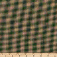 Rustic Woven 1/8 Check Green/Natural