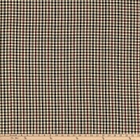 Rustic Woven 1/8 Check Navy/Olive/Wine