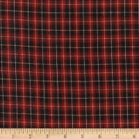 Rustic Woven SM Plaid Wine/Black