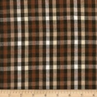 Rustic Woven 1/4 IN Check Brown Natural