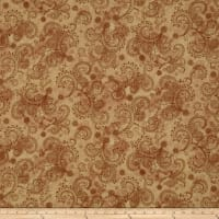 "Avalon 108"" Wideback Decorative Filigree Tan"