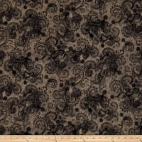 "Avalon 108"" Wideback Decorative Filigree Grey"