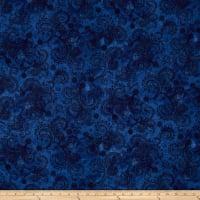 "Avalon 108"" Wideback Decorative Filigree Midnight"
