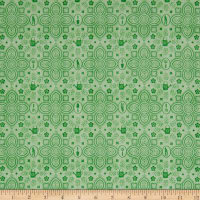 A Gardening We Grow Garden Damask Lt. Green