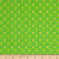 All A Flutter Quatrefoil Green