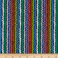Alpaca Picnic Triangle Stripe Navy