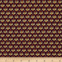 Manor House Foulard Maroon