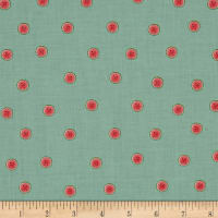 Santoro Kori Kumi Melon Drop Watermelon Dots Lt. Aqua