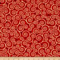 Ink & Arrow June Bee Esme Scroll Red