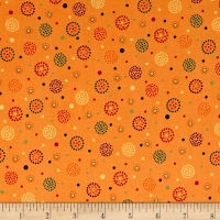 Moxie Dotted Dots Tangerine
