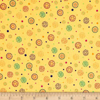 Moxie Dotted Dots Lt. Yellow