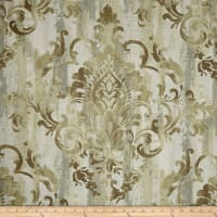 Swavelle/Mill Creek Cauthen Damask Barkcloth Wheat