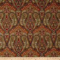Swavelle/Mill Creek Scibelli Damask Sateen Indian Summer