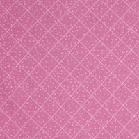The Quilted Cottage Dotted Diamond Check Pink