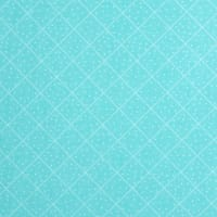 QT Fabrics  The Quilted Cottage Dotted Diamond Check Turquoise