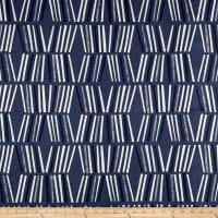 Premier Prints Ricardo Slub Canvas Space Blue