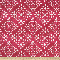 Premier Prints Avilia Slub Canvas Raspberry