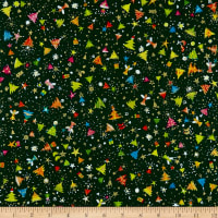 QT Fabrics Holiday Minis Christmas Trees Forest