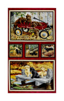 "Labrador Able Labrador Picture Patch 24"" Panel Multi"