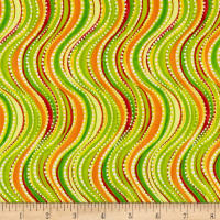 Ink & Arrow Olivia Wavy Stripe Light Green