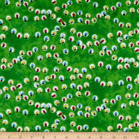 QT Fabrics Peanuts Peace*Love*Joy Christmas Lights Green