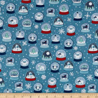 Ink & Arrow Twinkle Twinkle Snow Globes Dark Blue