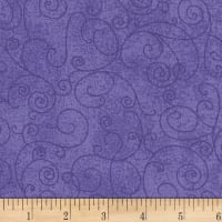 "Westrade 110"" Flannel Wide Backs  Willow Lavender"