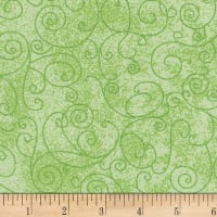 "Westrade 110"" Flannel Wide Backs  Willow Lime"