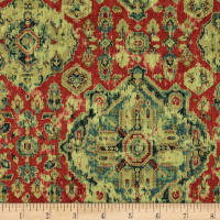 Covington Massimo Linen Moroccan Red