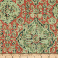 Covington Massimo Linen Henna Red