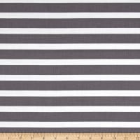 Sunshine Girls Jumbo Stripe Gray/White
