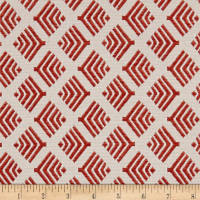 Richloom Citizen Jacquard Tomato