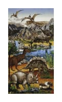 "Stonehenge Kids Prehistoric 24"" Panel Earth"