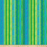 Strokes Of Brilliance Digital Stripes Green