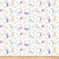 Unicorn Magic Unicorn Glitter White