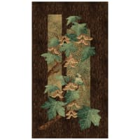"Stonehenge Maplewood Woodland 24"" Panel Teal"