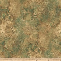 Stonehenge Maplewood Abstract Teal/Brown
