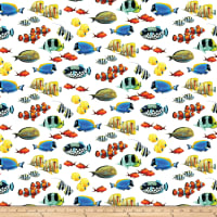 Coral Reef Digital White