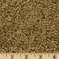 Romance Vines Metallic Brown