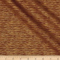 Sentimental Stripe Metallic Brown