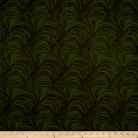 Wave TextureWide Wave Texture Dark Green