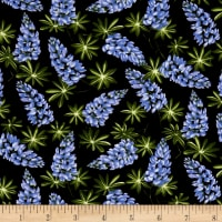 A Wildflower Meadow Lupine Black/Blue