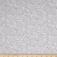 Contempo Meadow Dance Floral Blender Light Grey