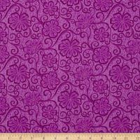 Contempo Meadow Dance Floral Blender Plum