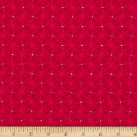 Contempo Meadow Dance Diamonds Red