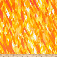 Kanvas Sunburst Color Collage Yellow