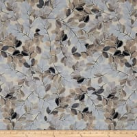 Kanvas Essence of Pearl Sheer Leaves Beige/Neutral