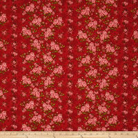 "Homestead 110"" Wideback Climbing Rose Red"