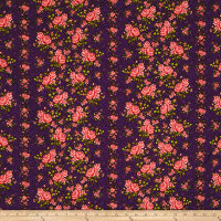 "Homestead 110"" Wideback Climbing Rose Purple"