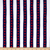 Kanvas Simply American Stars & Stripes White